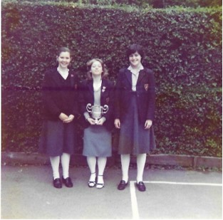 Winners of the debating Competition Summer term 1981